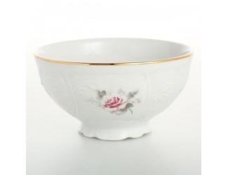 Набор пиал Bernadotte Серая роза золото 11 см(6 шт)