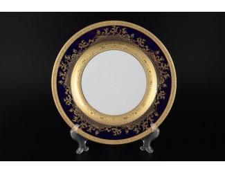 Набор тарелок Falkenporzellan Constanza Cobalt Gold 27 см(6 шт)