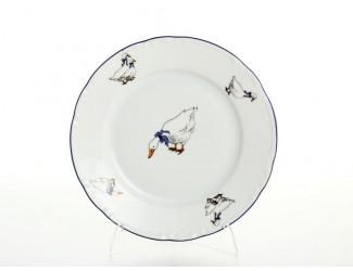 Набор тарелок Thun Констанция Гуси 26см(6 шт)