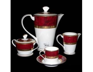 Кофейный сервиз Noritake HEMINGWAY 6 персон 15 предметов