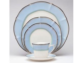 Кофейный сервиз Noritake CENTURA BLUE на 12 персон 27 предметов
