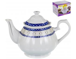 Guterwahl Венера Тания, чайник 1000мл, декор серебро, цветная упаковка
