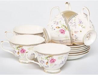 Набор чайных пар на 6 персон 12 предметов Balsford Эклат 195-42002