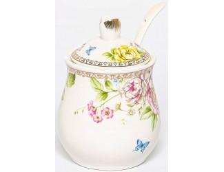 Баночка для мёда 320мл с крышкой и ложкой Balsford Мэридит