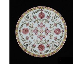 Декоративная тарелка 30см Zsolnay ручная работа 10182/6994