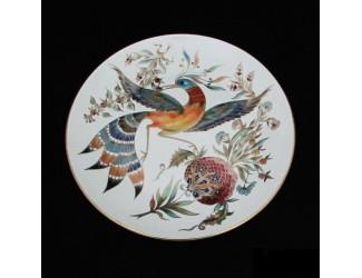 Декоративная тарелка 30см Zsolnay ручная работа 10182/7175