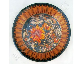 Декоративная тарелка 20,5см Zsolnay ручная работа 10321/7564