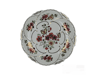Декоративная тарелка 30,5см Zsolnay Бабочка -9269/026