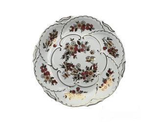 Настенная тарелка 30,5см Zsolnay ручная работа 9269/121