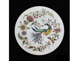 Декоративная тарелка 40,5см ручная работа Zsolnay 9970/7123
