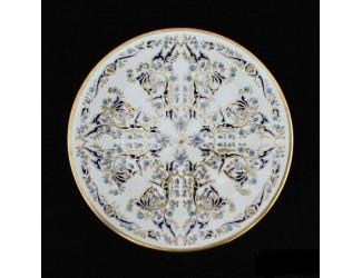 Декоративная тарелка 40,5см ручная работа Zsolnay 9970/7436