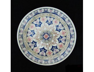 Декоративная тарелка 40,5см ручная работа Zsolnay 9970/7486