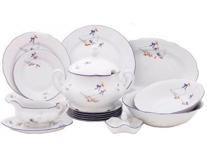 Сервиз столовый 25 предметов 6 персон Leander Мэри-Энн Гуси 0807 03162011-0807