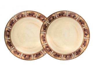 Набор из 2-х десертных тарелок 20,5см LCS Натюрморт