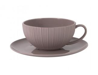 Чайная пара 200мл Home & Style какао
