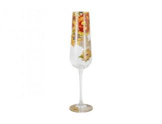 Бокал для шампанского 300мл Ирисы (В. Ван Гог) в подарочной упаковке
