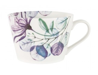 Кружка 480мл Home & Style Азалия фиолетовый