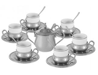 Кофейный набор Gamma на 6 персон 21 предмет Экстра-люкс
