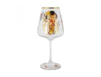 Бокал для вина 500мл Carmani Поцелуй (Г.Климт)