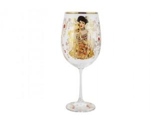 Бокал для вина 640мл Carmani Адель (Г.Климт)