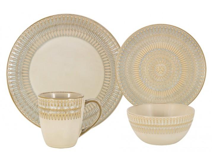 Чайно-столовый(обеденный) сервиз на 4 персоны 16 предметов Home & Style Персия