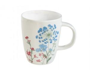 Кружка 350мл Easy Life Луговые цветы голубые