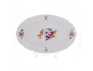 Блюдо овальное Bernadotte 39см Полевой цветок 5309011