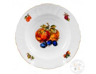 Набор глубоких тарелок Bernadotte Фрукты 23см(6 шт)