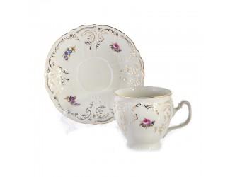 Набор для чая Bernadotte 240мл Бернадот Ивори на 6 персон 12 предметов
