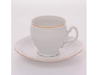 Набор для чая Bernadotte 240мл Бернадотт белый 311011 на 6 персон 12 предметов