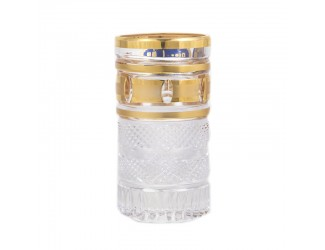 Набор бокалов Mclassic 60 мл 6 шт Золотые окошки мозер 20260