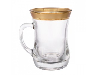 Набор для чая Union Glass 225 мл на 6 персон 12 предметов