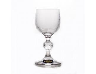 Набор бокалов Crystalite Bohemia 50 мл 6 шт Клаудия 28580