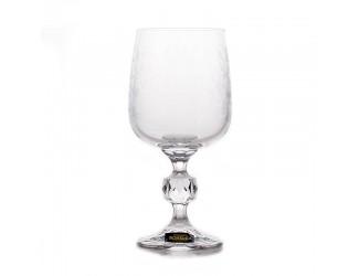 Набор бокалов Crystalite Bohemia 230 мл 6 шт Клаудия 28580