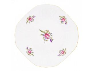 Набор тарелок квадратные Bernadotte 28см 6 шт Полевой цветок 5309011