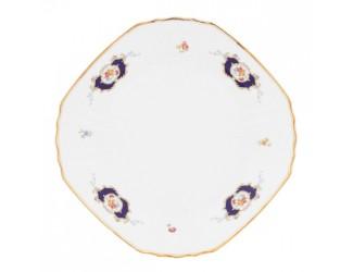 Набор тарелок квадратных 28см 6 шт Bernadotte Синий глаз 36612