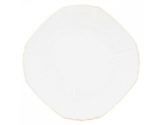 Набор тарелок  квадратных Bernadotte 28см 6шт Бернадотт белый 311011