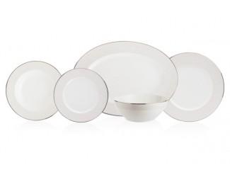 Сервиз столовый  Noritake Брум-стрит на 6 персон 20 предметов NOR4913-Dinner Set 6/20