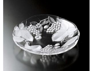 Блюдо 33см Кантри Филдз Soga Glass A1261X