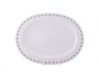 Блюдо овальное 36,5 см Noritake Бретон NOR-4872_12