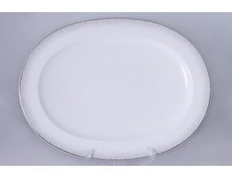 Блюдо овальное 36,5 см Noritake Алана платинумNOR-4881_12