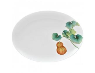 Блюдо овальное Noritake Овощной букет Тыква 37см