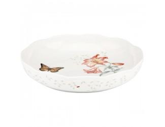 Блюдо круглое Lenox Бабочки на лугу 27см