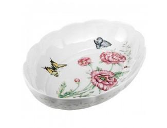 Блюдо овальное для запекания Lenox Бабочки на лугу 1,9л