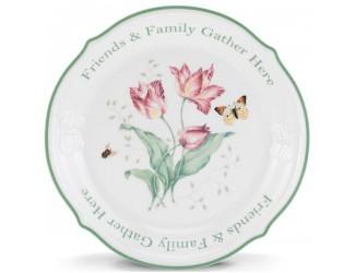 Блюдо круглое Lenox Бабочки на лугу 30см