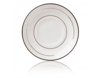 Блюдце для чашки чайной Noritake Монтвейл платиновый кант 15,5см