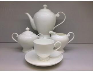 Сервиз чайный на 6 персон 17 предметов Japonica Ажур JDWX092-4