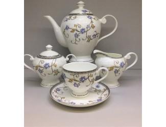 Сервиз чайный на 6 персон 17 предметов Japonica Грация JDYSQH-4