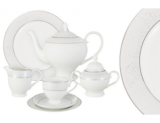 Чайный сервиз Anna Lafarg Emily Мелисента 40 предметов на 12 персон