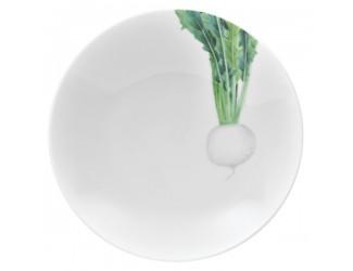 Тарелка для пасты Noritake Овощной букет Редька 23см